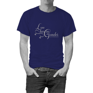 Love+Has+No+Gender+Tee+(Male)Blue