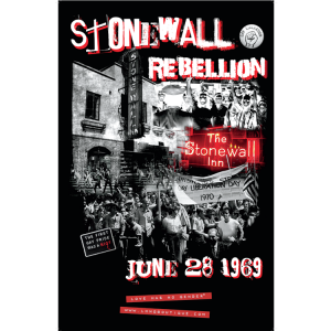 Stonewall Rebellion Commemorative Poster